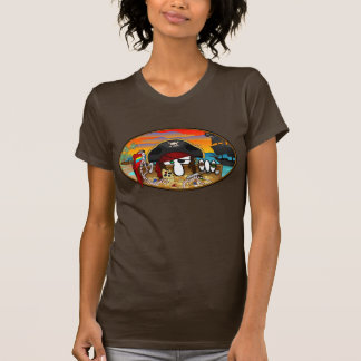Pirate Kilroy Ladies T-Shirt