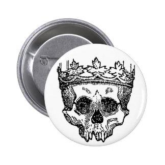 Pirate King 6 Cm Round Badge