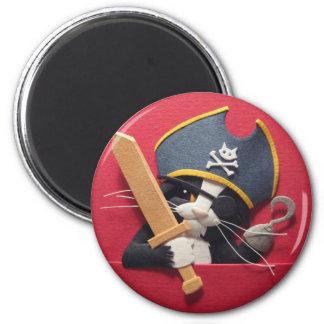 Pirate Kitten Magnet