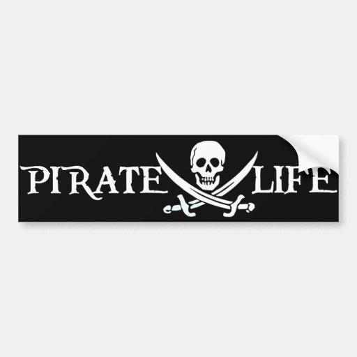 Pirate Life Caribbean Pirates Bumper Stickers