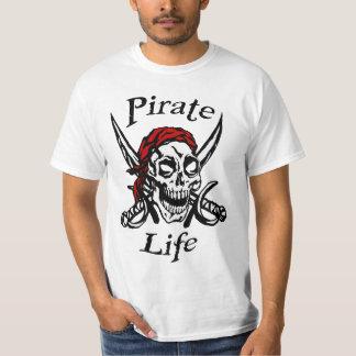 Pirate Life T-Shirt - Pirates, Gold, Plunder, Skul