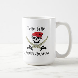 Pirate Life Yo Ho Jolly Roger Mug