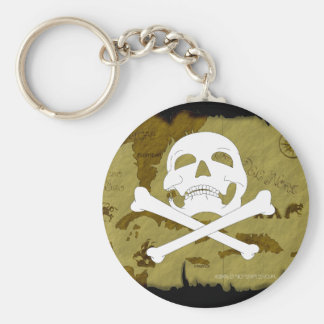 Pirate Map #1 Key Ring