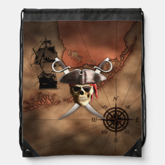 Pirate Map Backpacks