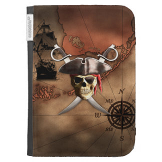 Pirate Map Cases For The Kindle