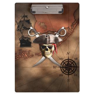 Pirate Map Clipboard