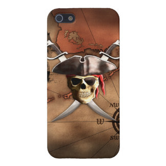 Pirate Map iPhone 5 Covers