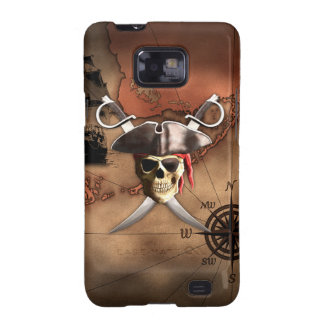 Pirate Map Samsung Galaxy SII Covers