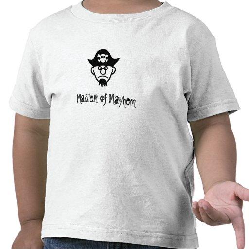 Pirate: Master of Mayhem T-shirts