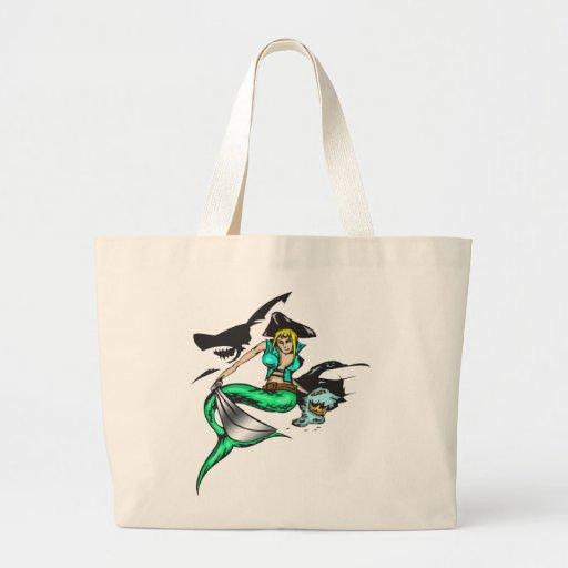 Pirate Mermaid Bags