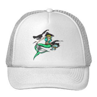 Pirate Mermaid Cap