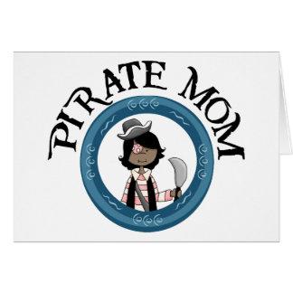 Pirate Mom Card