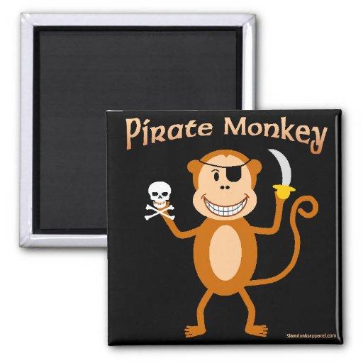 Pirate Monkey magnet