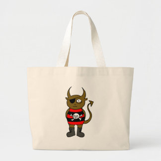 Pirate Monster Canvas Bags