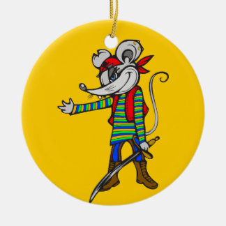 Pirate Mouse Christmas Tree Ornaments