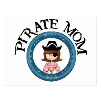 Pirate Mum Postcard