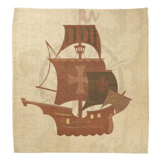 Pirate Mystery Ship Bandana