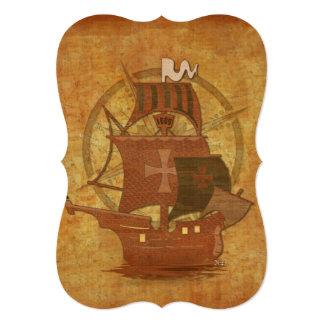 Pirate Mystery Ship Card