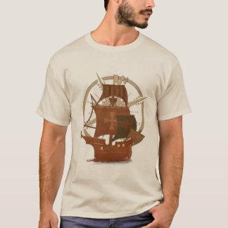 Pirate Mystery Ship T-Shirt