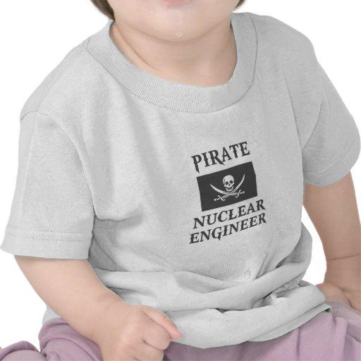 Pirate Nuclear Engineer Tees