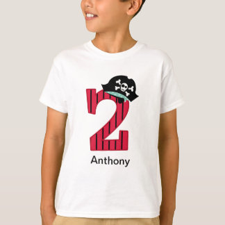 Pirate Number 2 T-Shirt