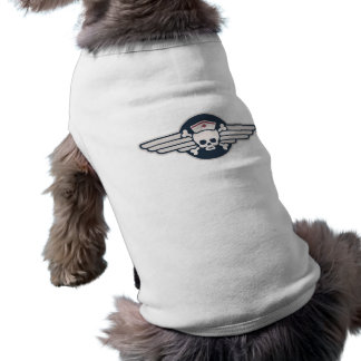 Pirate Nurse Wings III Sleeveless Dog Shirt