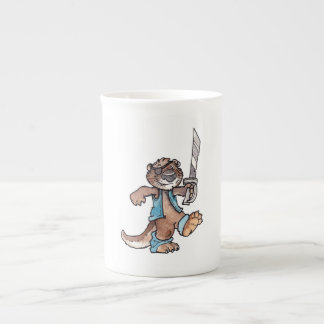 Pirate Otter Tea Cup