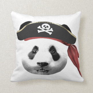Pirate Panda Cushion