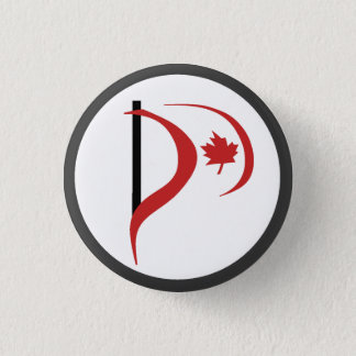 Pirate Party Of Canada 3 Cm Round Badge