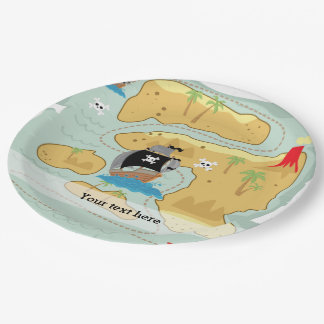 Pirate Party Paper Plate