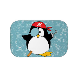 Pirate Penguin Graphic Lunch Boxes