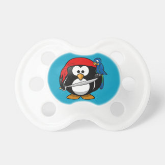 Pirate penguin parrot dummy
