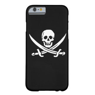 Pirate phone case Jolly Rodger flag ship boat eye Barely There iPhone 6 Case