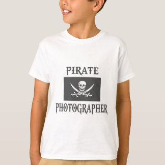 Pirate Photographer T-Shirt