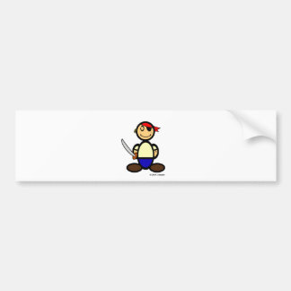 Pirate (plain) bumper sticker