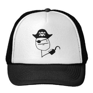 Pirate poker face - meme cap