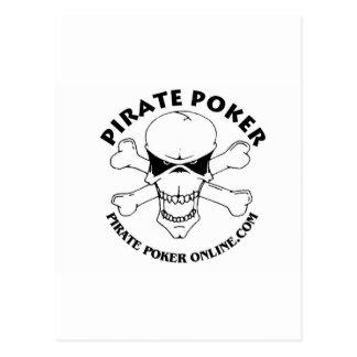 pirate poker postcards