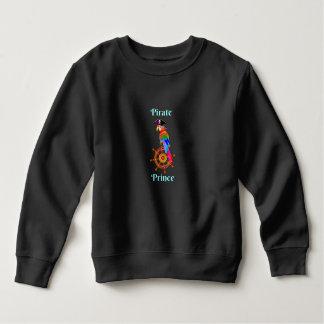 Pirate Prince - Parrot Toddler Fleece Sweatshirt
