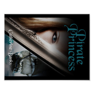 Pirate Princess Book Cover Poster