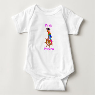 Pirate Princess - Parrot Baby Jersey Bodysuit