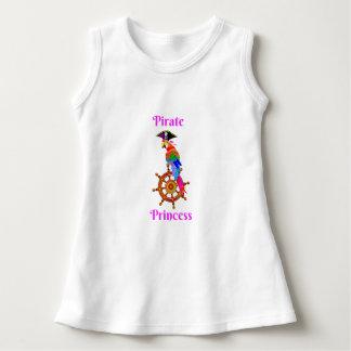 Pirate Princess - Parrot Baby Sleeveless Dress