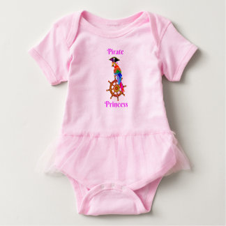 Pirate Princess - Parrot Baby Tutu Bodysuit