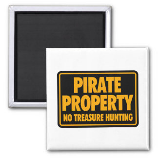 Pirate Property Magnet