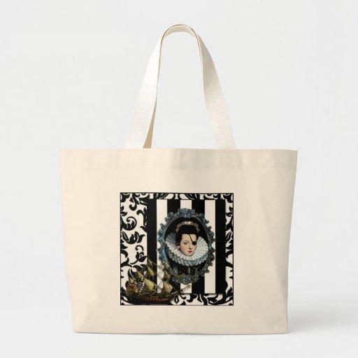 Pirate Queen, My Lady...original art Tote Bags