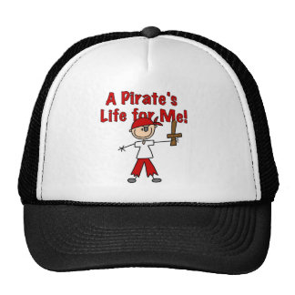 Pirate s Life for Me Tshirts and Gifts Mesh Hat