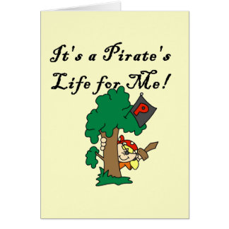 Pirate s Life Tshirts and Gifts Card