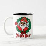 Pirate Santa Two-Tone Mug