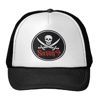Pirate Savvy Trucker Hat