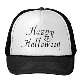 Pirate Scrawl Happy Halloween Cap