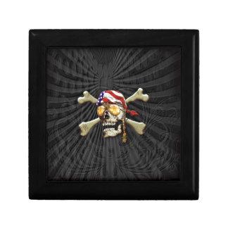 Pirate Scull Gift Box